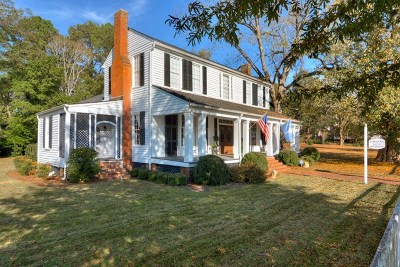 Edgefield County Single Family Home For Sale: 409 Main St