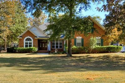 Aiken Single Family Home For Sale: 1579 Cedar Meadows Drive
