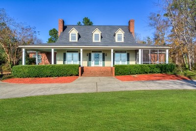 Aiken Single Family Home For Sale: 832 Wire Road