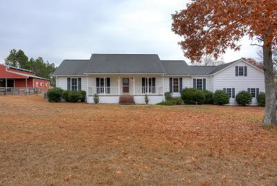 Aiken Single Family Home For Sale: 189 Crooked Creek