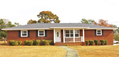 North Augusta Single Family Home For Sale: 244 Border Dr