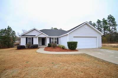 North Augusta Single Family Home For Sale: 712 Willow Ln