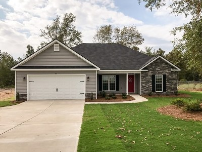 Edgefield County Single Family Home For Sale: 29 Murrah Rd Ext