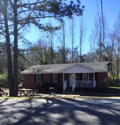 Edgefield County Single Family Home For Sale: 2051 Lakeview Drive