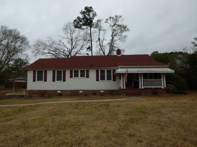 Edgefield County Single Family Home For Sale: 804 Mobley St