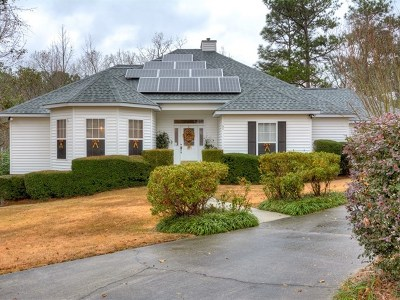 Aiken Single Family Home For Sale: 60 Flat Trail Ct