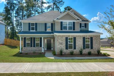 Edgefield County Single Family Home For Sale: 260 Longstreet Crossing