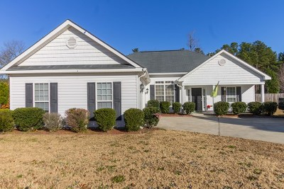 Edgefield County Single Family Home For Sale: 62 Murrah Road