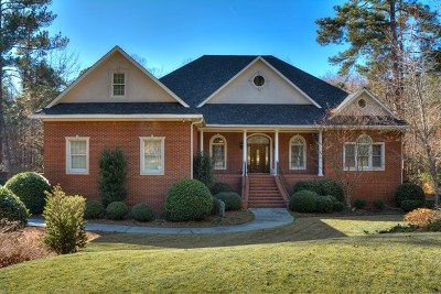 Aiken Single Family Home For Sale: 126 Mockernut Circle