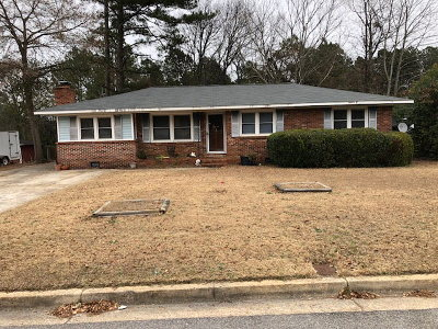 North Augusta Single Family Home For Sale: 122 Edna
