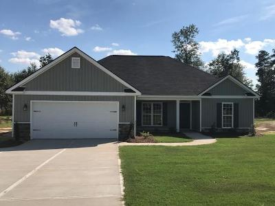 Edgefield County Single Family Home For Sale: Lot 1005 Murrah Road Ext