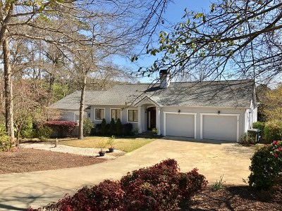 Aiken Single Family Home For Sale: 1410 Woodbine Road
