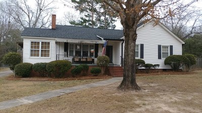 Edgefield County Single Family Home For Sale: 508 Bland Ave