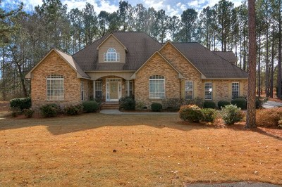 Aiken County Single Family Home For Sale: 156 Windermere