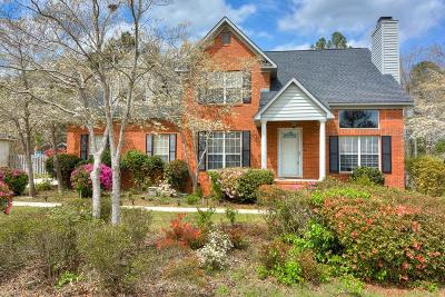 North Augusta Single Family Home For Sale: 3047 Maplewood Dr
