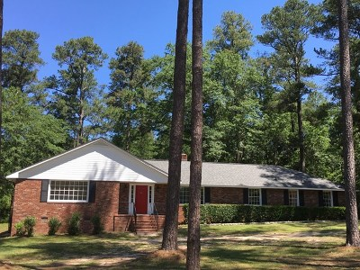 North Augusta Single Family Home For Sale: 307 Apache