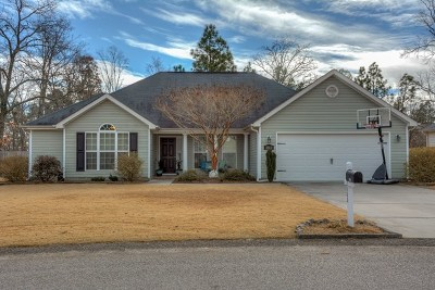 Aiken Single Family Home For Sale: 2060 Lavender Ln