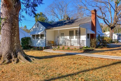 Aiken Single Family Home For Sale: 1526 S Boundary Ave SE