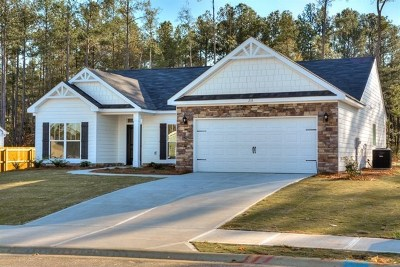 Aiken County Single Family Home For Sale: Lot 16 Lacebark Pine Way