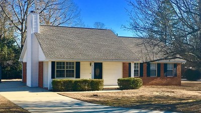 Aiken Single Family Home For Sale: 606 Randolph Street