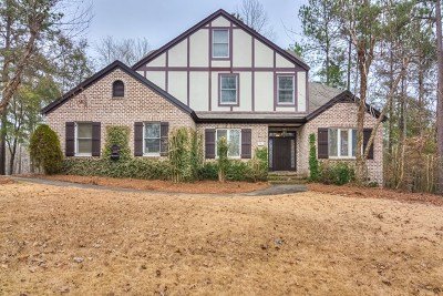 North Augusta Single Family Home For Sale: 637 Savannah Barony Drive