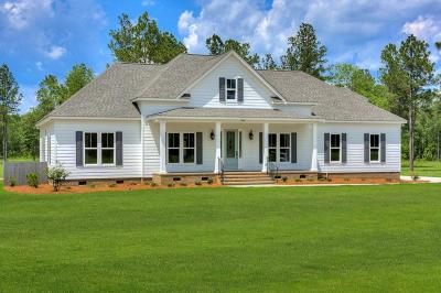 Aiken Single Family Home For Sale: 7681 Rembert Place