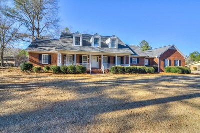 North Augusta Single Family Home For Sale: 1125 Audubon Rd