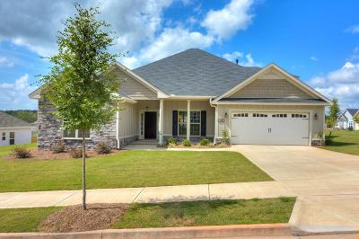 North Augusta Single Family Home For Sale: 487 Bridle Path Road