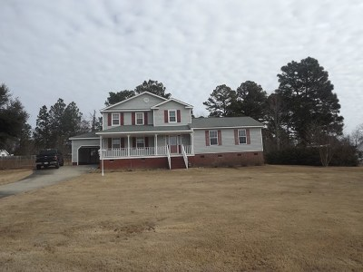 North Augusta Single Family Home For Sale: 2123 Howard Mill Rd