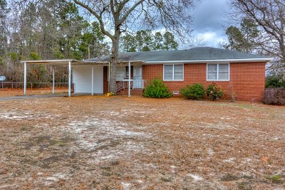 New Ellenton Single Family Home For Sale: 308 Robinson Dr