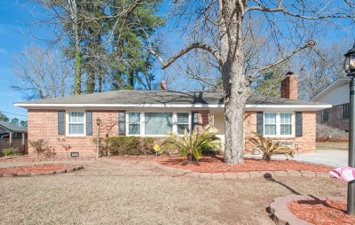 North Augusta Single Family Home For Sale: 1416 Waccamaw Drive