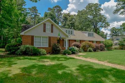 Aiken Single Family Home For Sale: 833 Magnolia Street SE