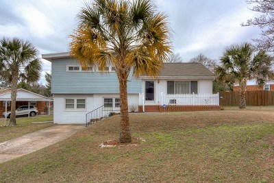 North Augusta Single Family Home For Sale: 124 Hillside Place