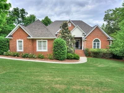 Aiken Single Family Home For Sale: 508 Forest Bluffs Road