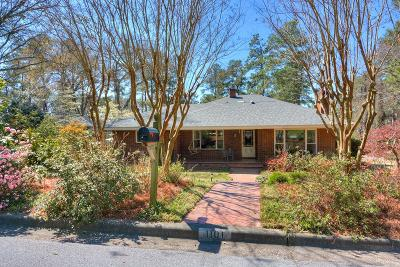 North Augusta Single Family Home For Sale: 1101 Holliday Drive