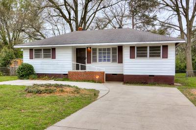 North Augusta Single Family Home For Sale: 122 Palmetto Ave