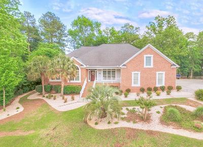 North Augusta Single Family Home For Sale: 154 Blue Heron Drive