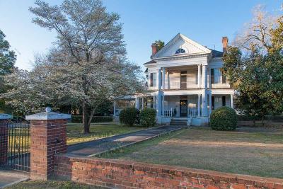 Aiken Single Family Home For Sale: 807 Park Ave SE