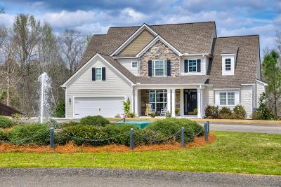 North Augusta Single Family Home For Sale: 8091 Canary Lake Road