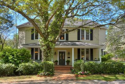 Aiken Single Family Home For Sale: 525 Barnwell Avenue NW