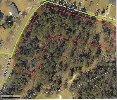 New Ellenton Residential Lots & Land For Sale: 000 Fairway & Ann Drive