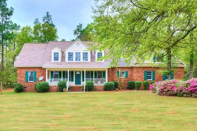 Aiken Single Family Home For Sale: 150 Maxwell Drive