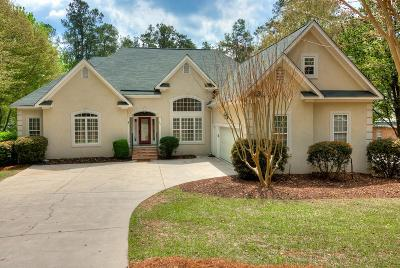Aiken Single Family Home For Sale: 124 Waters Edge
