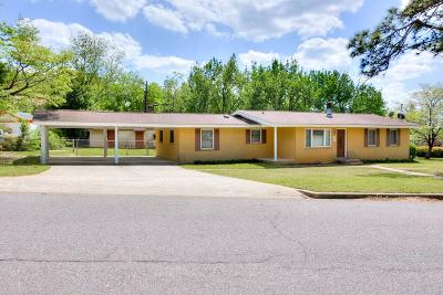 North Augusta Single Family Home For Sale: 825 Hillside Drive