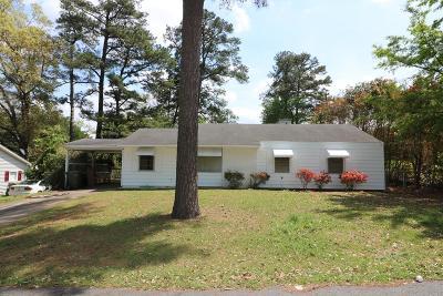 Aiken Single Family Home For Sale: 1226 Hahn Ave NE