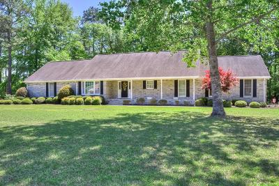 North Augusta Single Family Home For Sale: 15 Fox Creek Dr