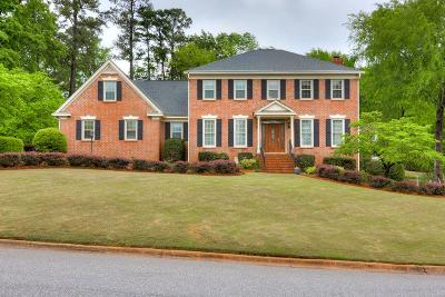 North Augusta Single Family Home For Sale: 2 Brookview Ct