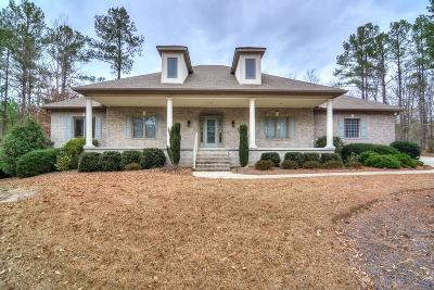 North Augusta Single Family Home For Sale: 253 Eutaw Springs Trail