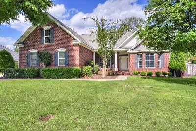 North Augusta Single Family Home For Sale: 128 Mill Run