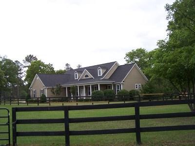 Aiken Single Family Home For Sale: 3030 Chewacla Lane